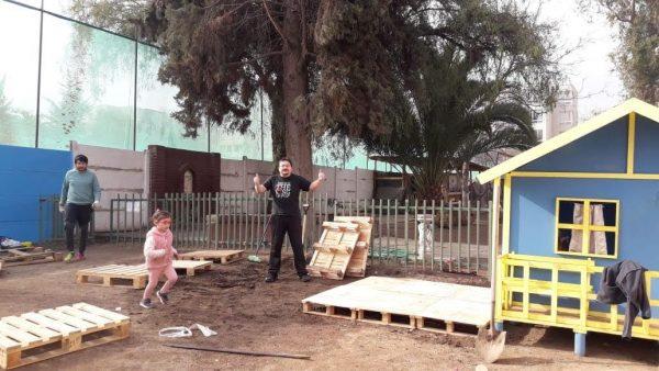 Proyecto de Patio Preescolar