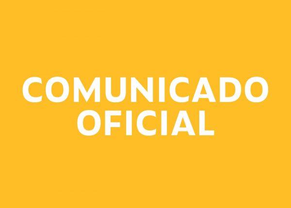 Comunicado Oficial: Colegiatura Septiembre