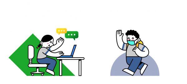 Horarios de clases virtuales y presenciales por curso