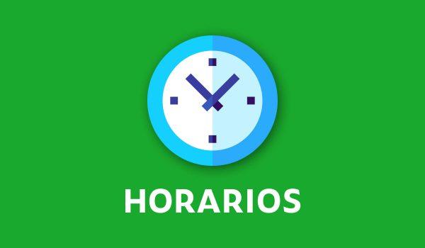 Comunicado N°7: Horarios en modalidad virtual por cuarentena