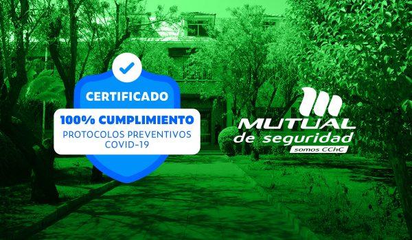 Colegio Manantial Recibe Sello Mutual de Seguridad Covid-19